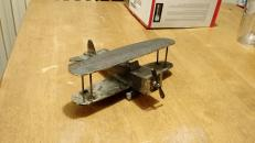 The steel bi-plane that I welded