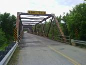 Cool bridge I crossed on the country road
